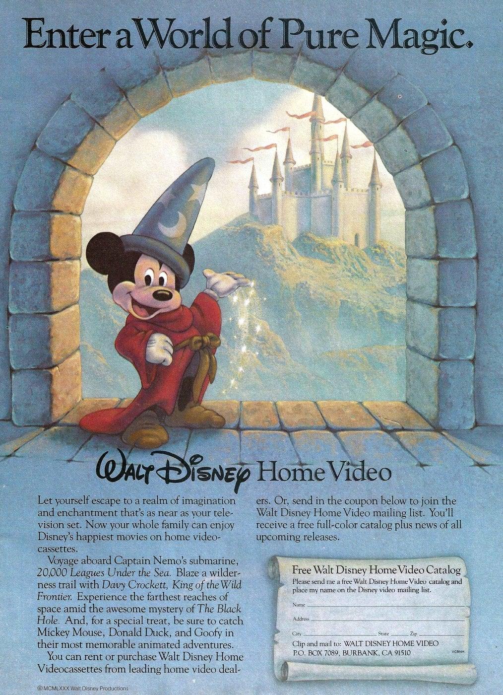 Walt Disney Home Video promo (1980)