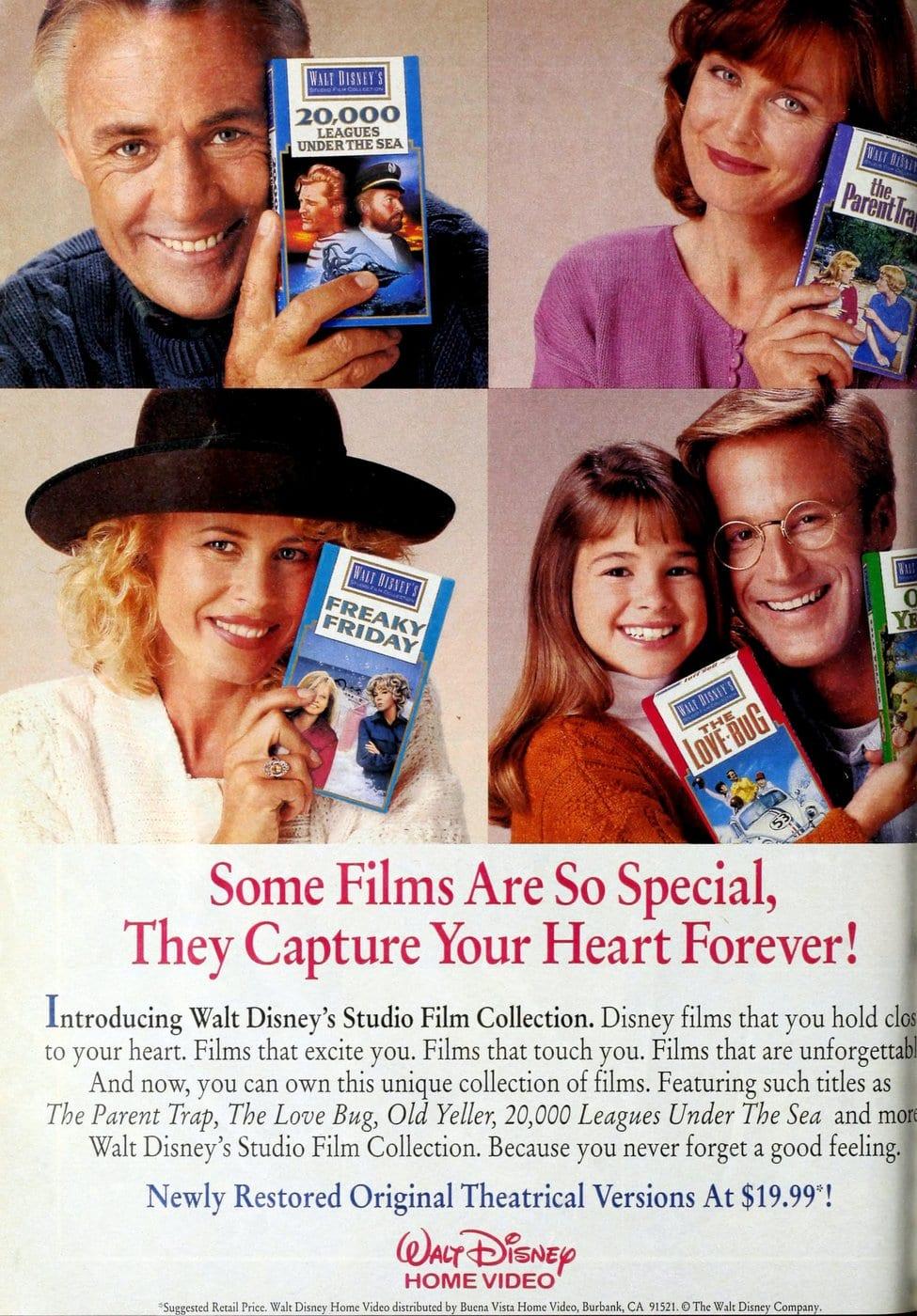 Walt Disney Studio Film Collection (1992)