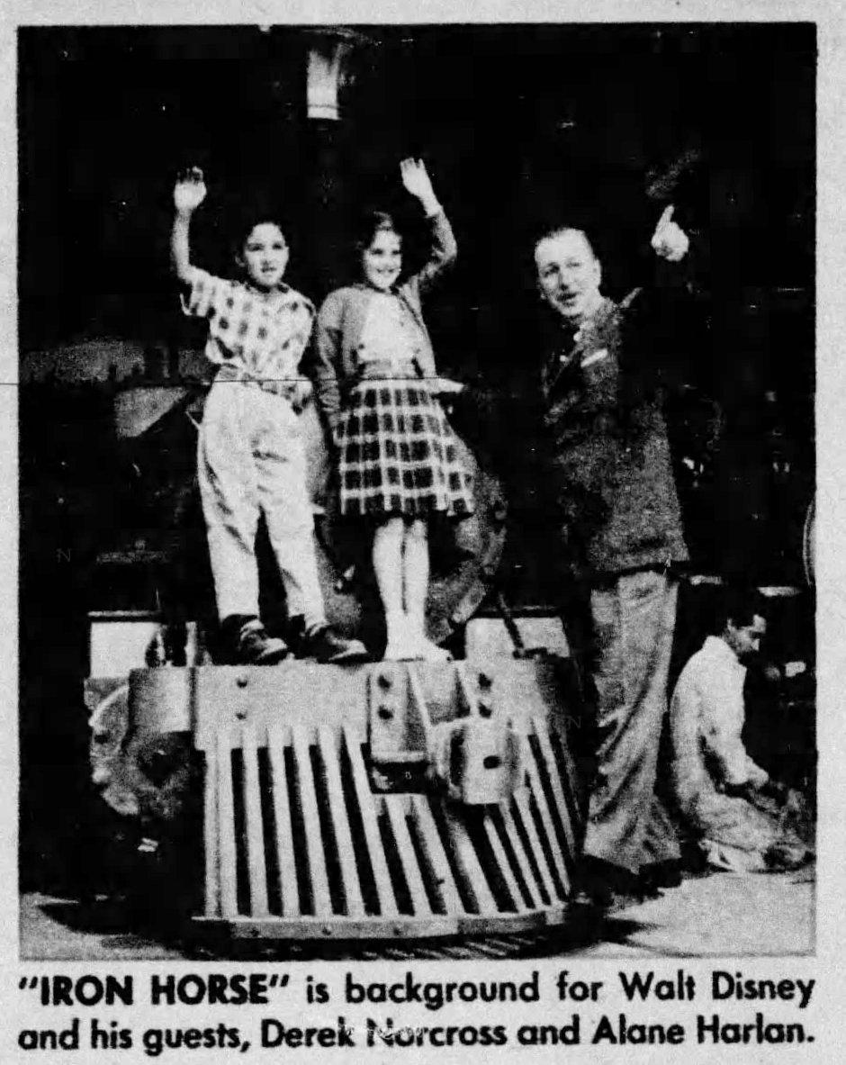Walt Disney personal tour Vintage Disneyland before opening 1955 (2)