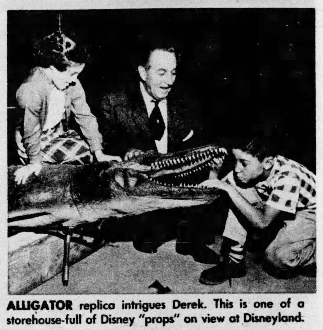 Walt Disney personal tour Vintage Disneyland before opening 1955 (3)