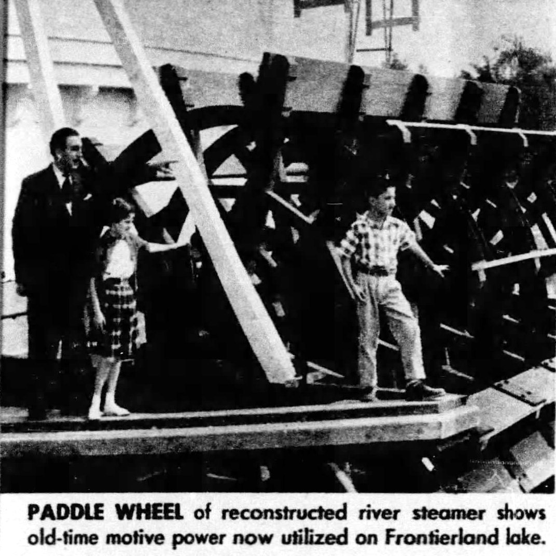 Walt Disney personal tour Vintage Disneyland before opening 1955