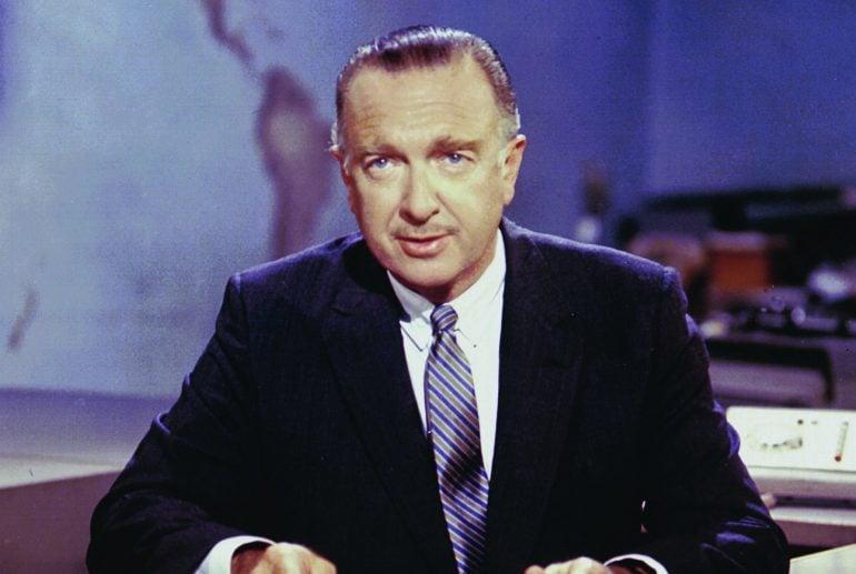 Walter Cronkite April 1962