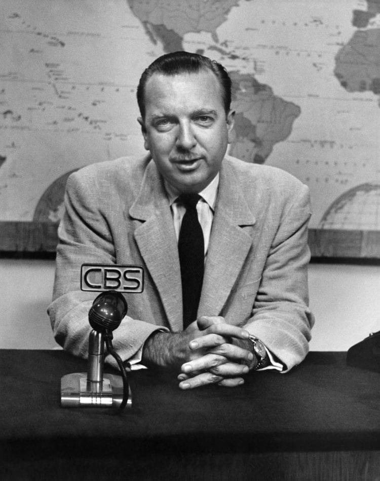 Walter Cronkite on CBS