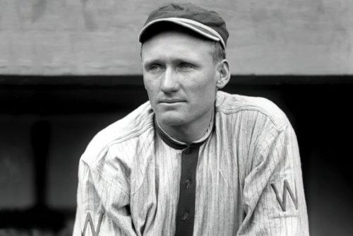 Walter Johnson - Baseball pitcher