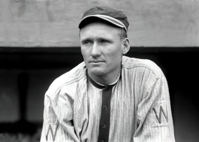 Walter Johnson - Baseball pitcher
