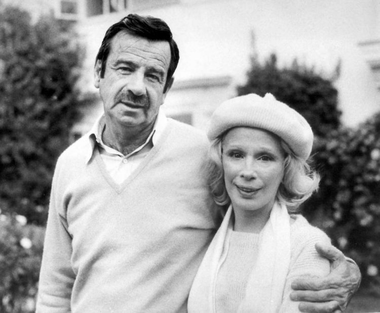Walter Matthau and wife, Carol