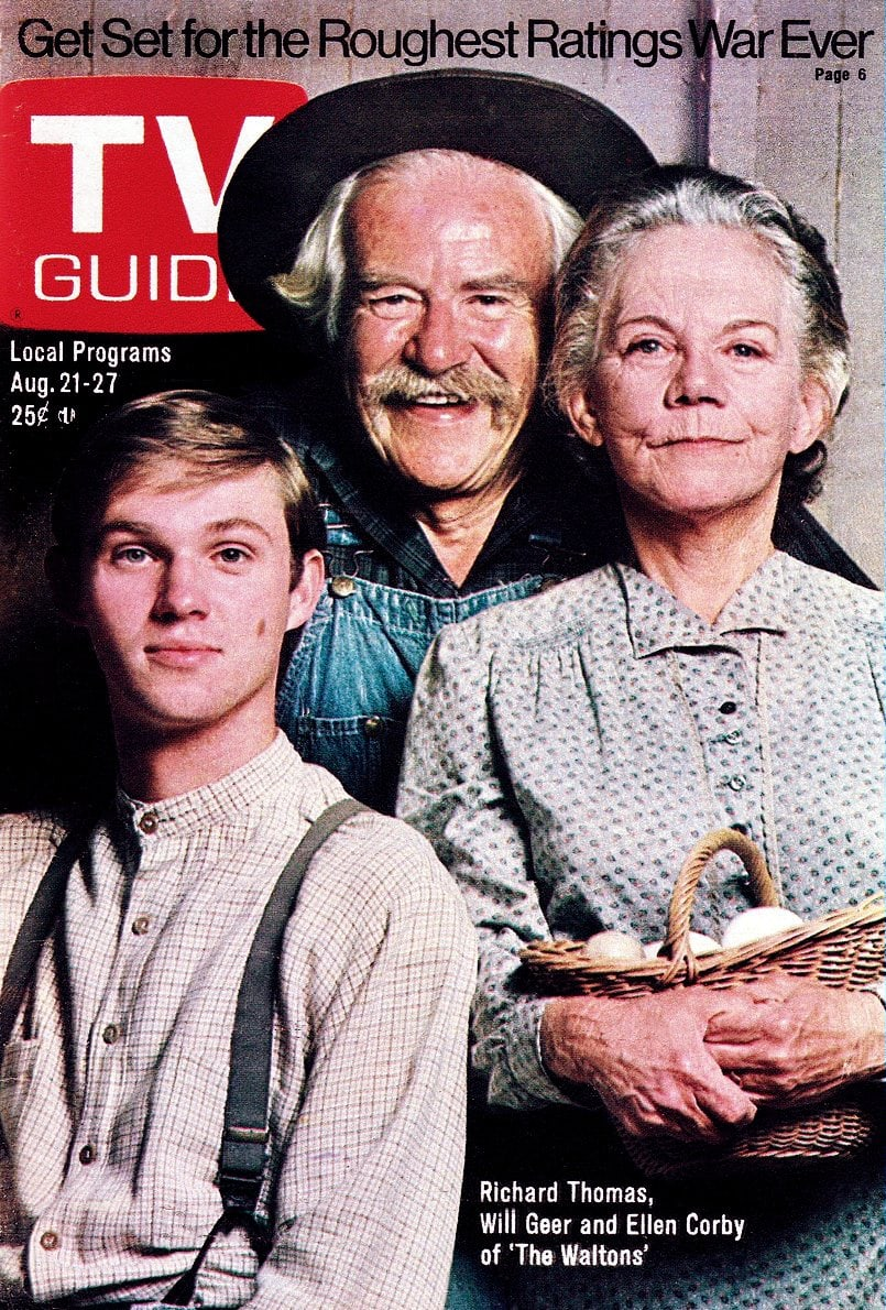 Waltons TV Guide cover