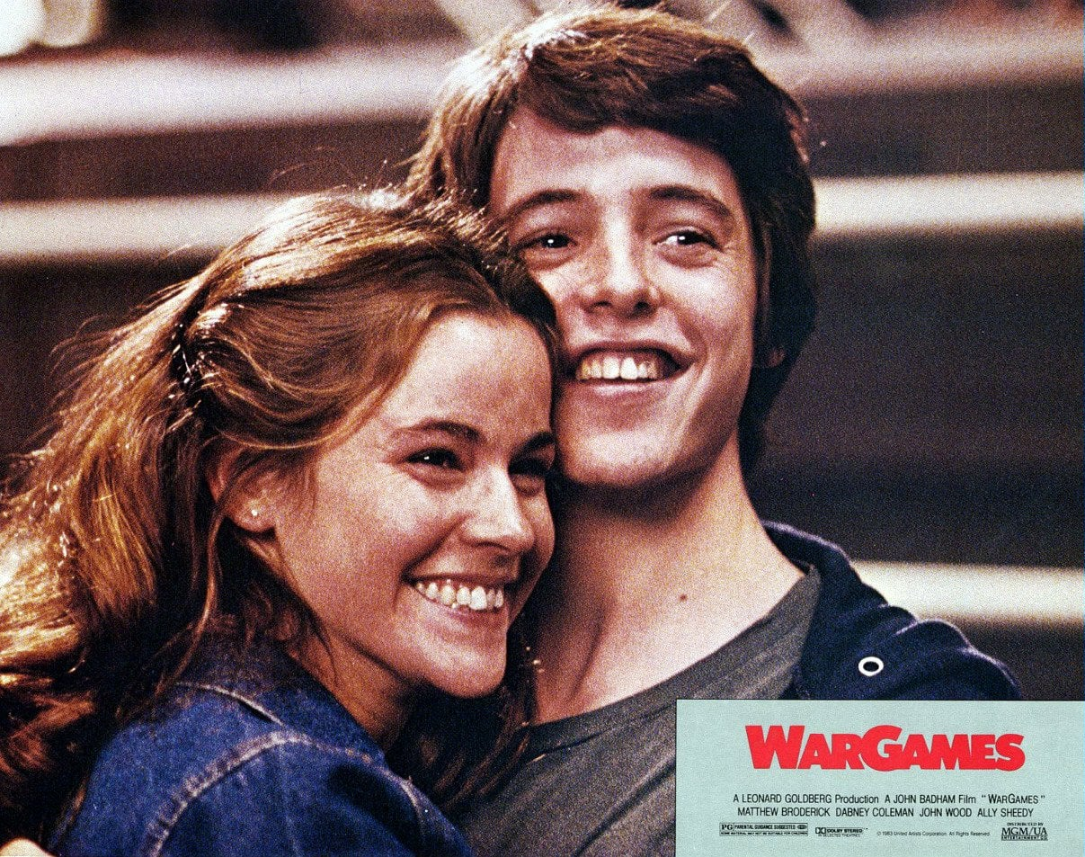War Games - David Lightman (Matthew Broderick) and Jennifer Mack (Ally Sheedy)