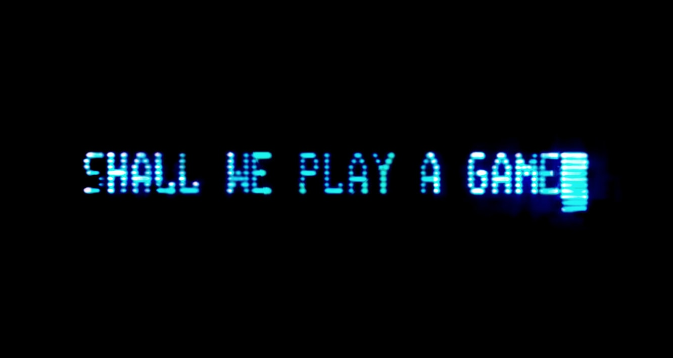 War Games - Shall we play a game screen