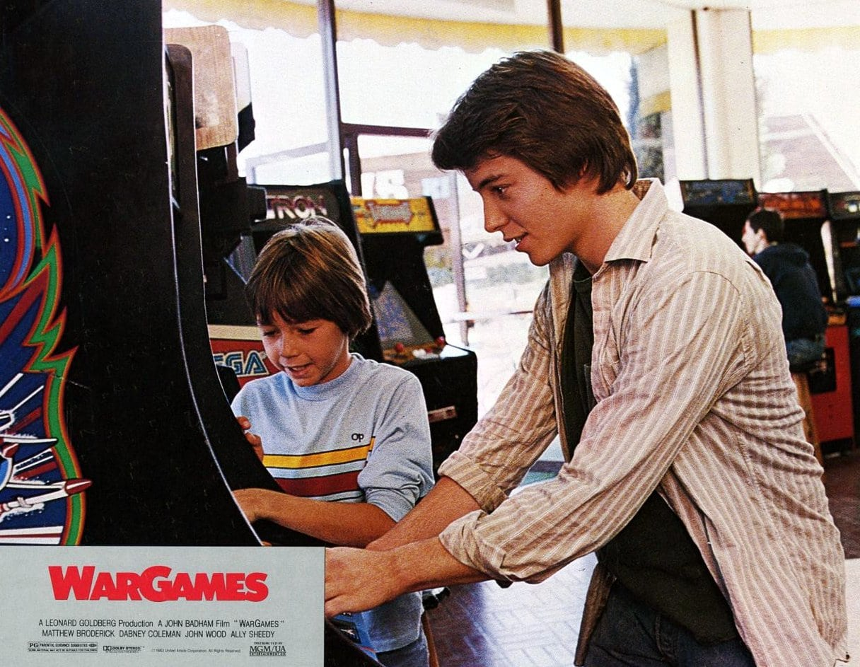 War Games movie - At the video game arcade (1983)