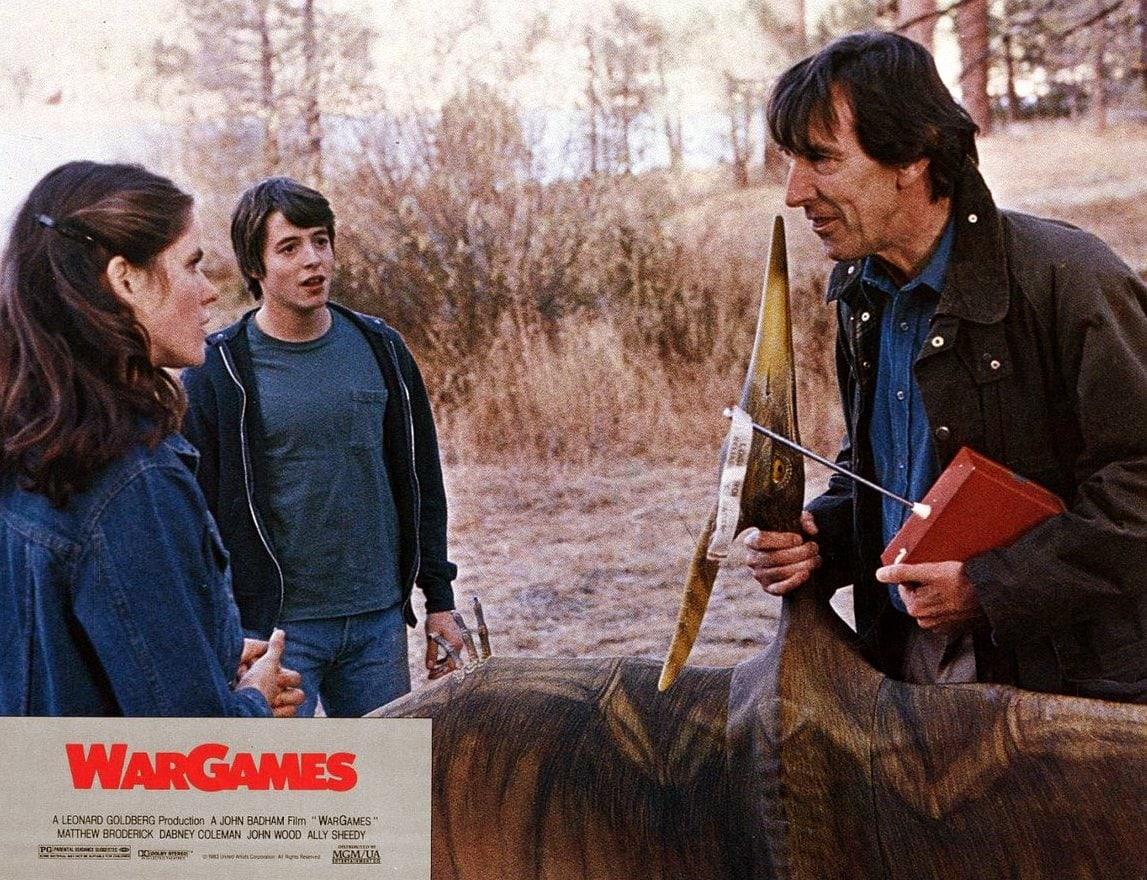 War Games movie scene