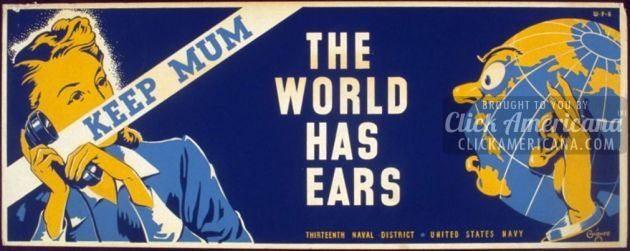 War don't talk posters - quiet (1)