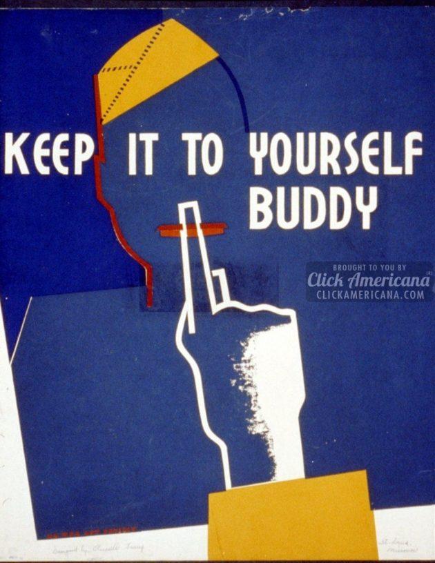 War don't talk posters - quiet (2)