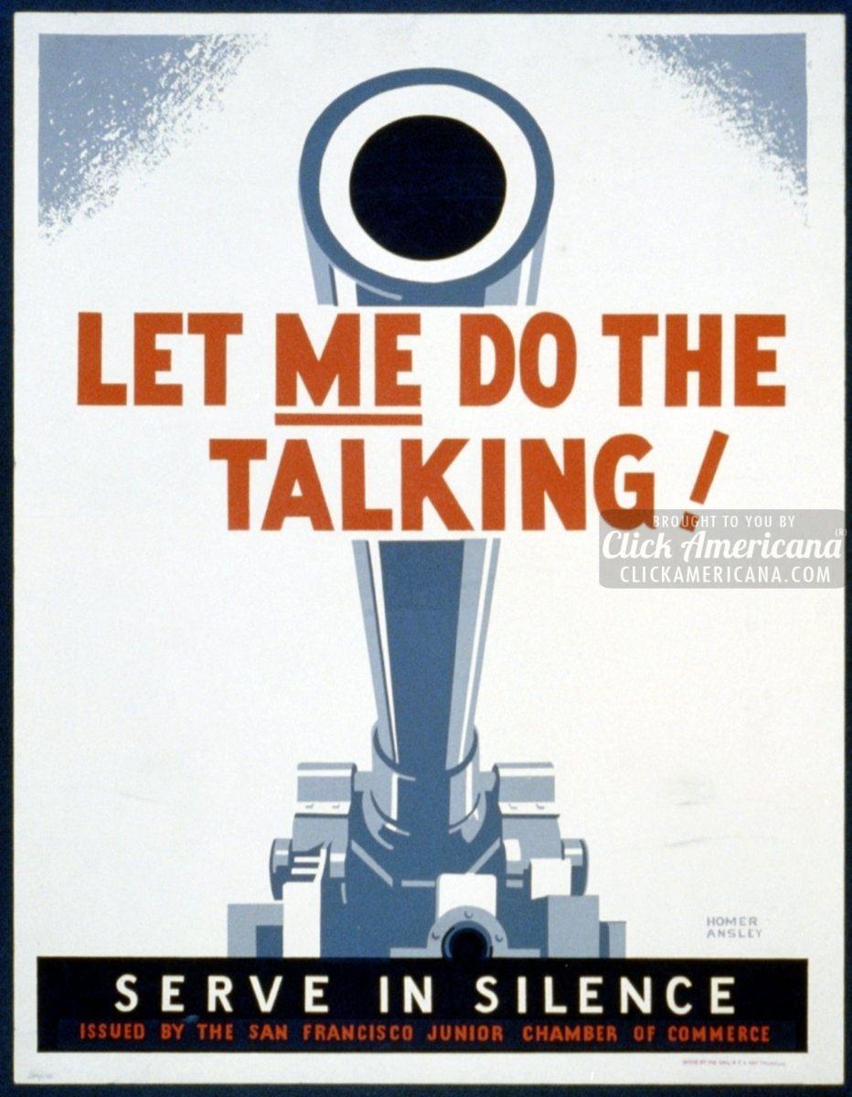 Keep mum: Loose talk costs lives (1941-1945)