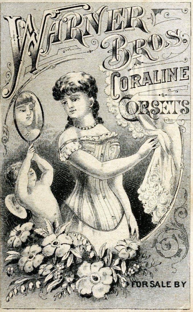 Warner Coraline corsets 1870s