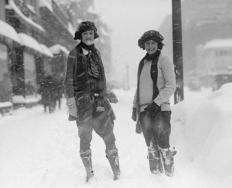 Washington DC 1922 snow blizzard storm (1)