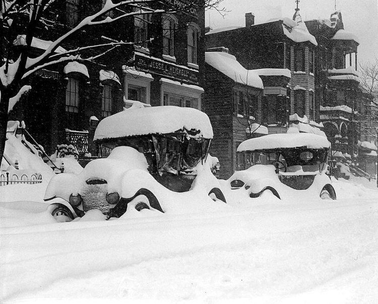 Washington DC 1922 snow blizzard storm (10)
