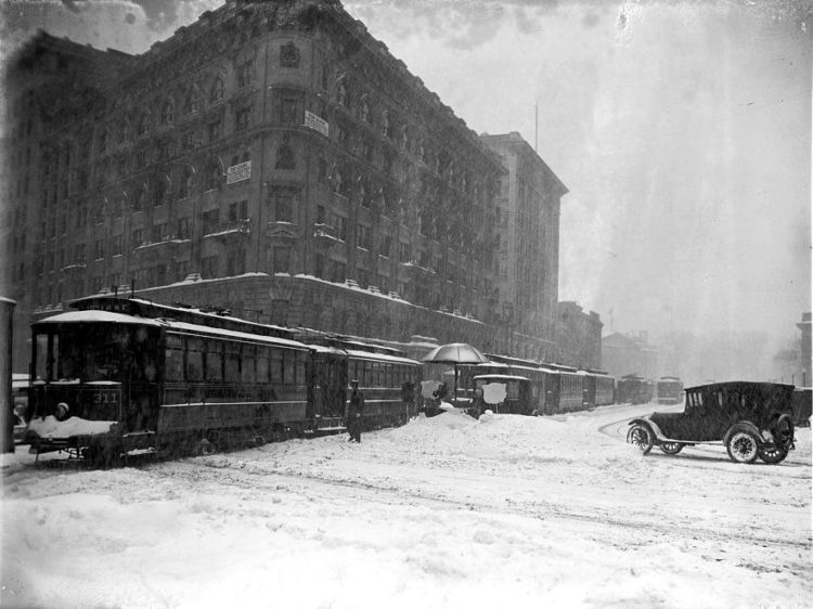 Washington DC 1922 snow blizzard storm (3)