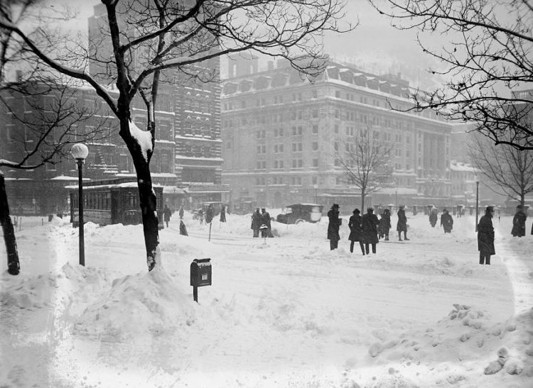 Washington DC 1922 snow blizzard storm (4)