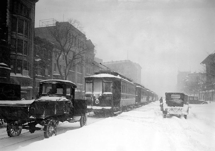 Washington DC 1922 snow blizzard storm (5)