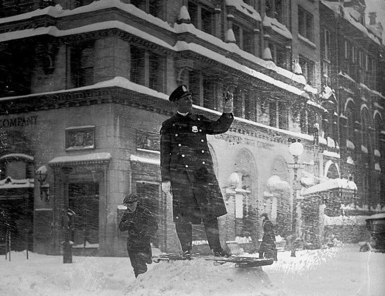 Washington DC 1922 snow blizzard storm (6)