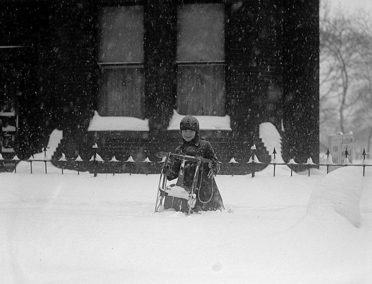 Washington DC 1922 snow blizzard storm (7)