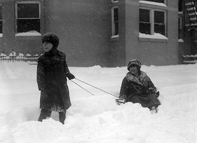 Washington DC 1922 snow blizzard storm (8)