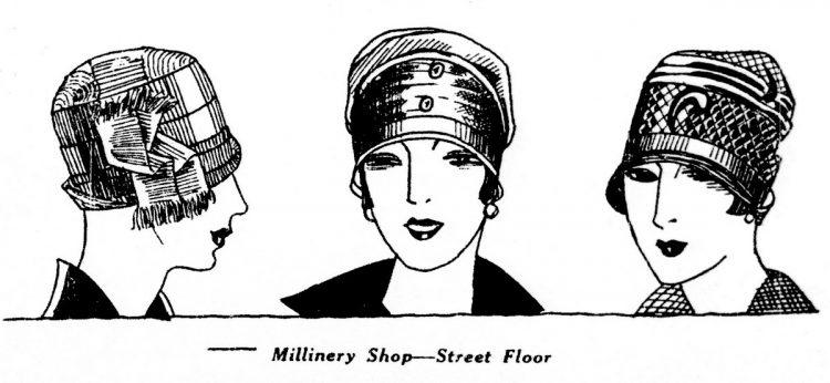 Washington DC millinery - Hats (1927)
