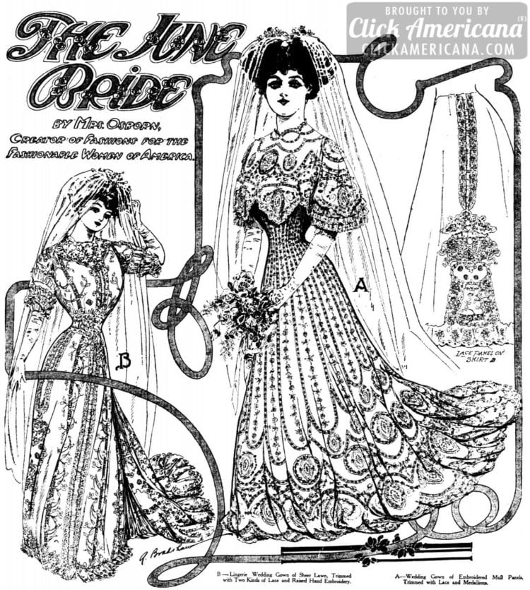 The June bride of 1906