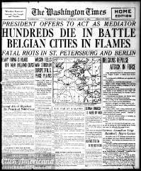 Washington times., August 05, 1914