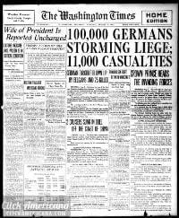 Washington times., August 06, 1914