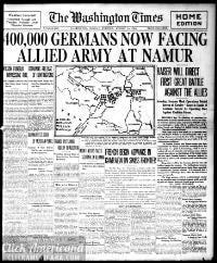 Washington times., August 10, 1914