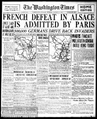 Washington times., August 11, 1914