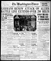 Washington times., August 13, 1914