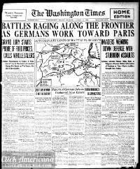Washington times., August 14, 1914