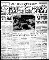 Washington times., August 16, 1914