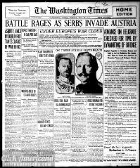 Washington times., July 27, 1914