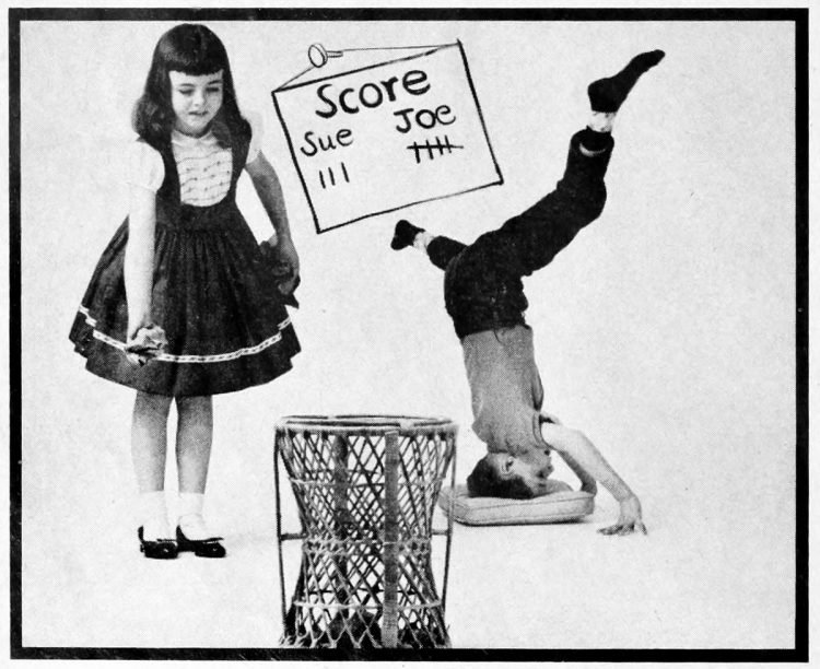 Wastepaper basketball - ideas from the 1960s