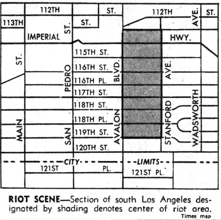 Watts riots - Historical newspaper stories August 13 1965 (3)