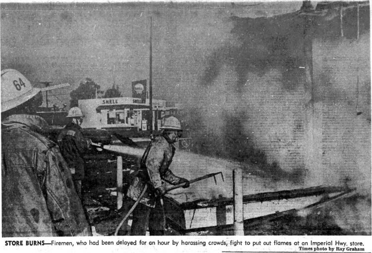 Watts riots - LA Times Historical newspaper stories August 14 1965 (1)