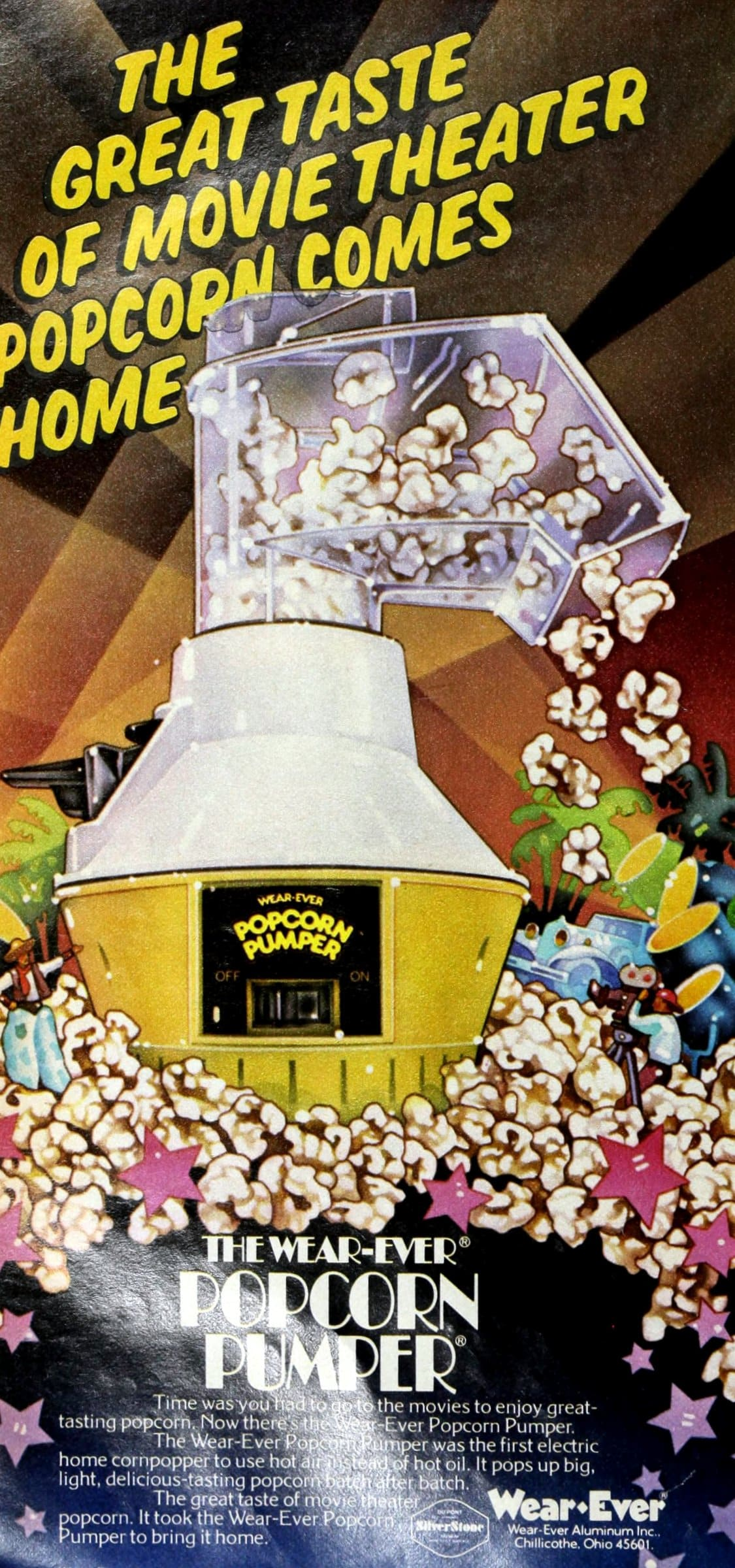 Wear-Ever Popcorn Pumper -- vintage popcorn machine (1980)
