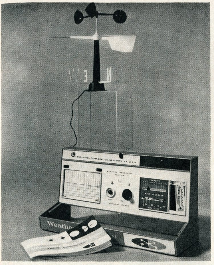 Weather station - Vintage 60s science kits for kids