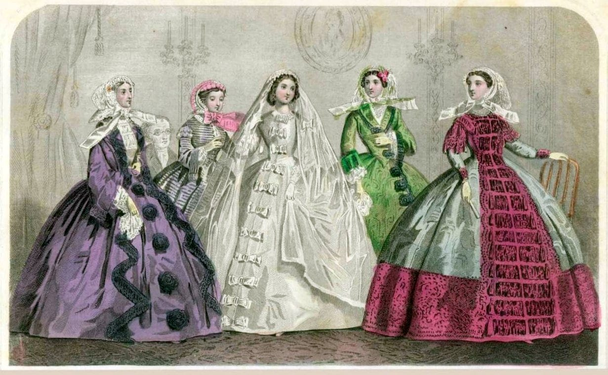 Wedding from 1860