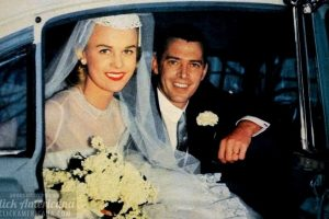 Wedding in the 1950s