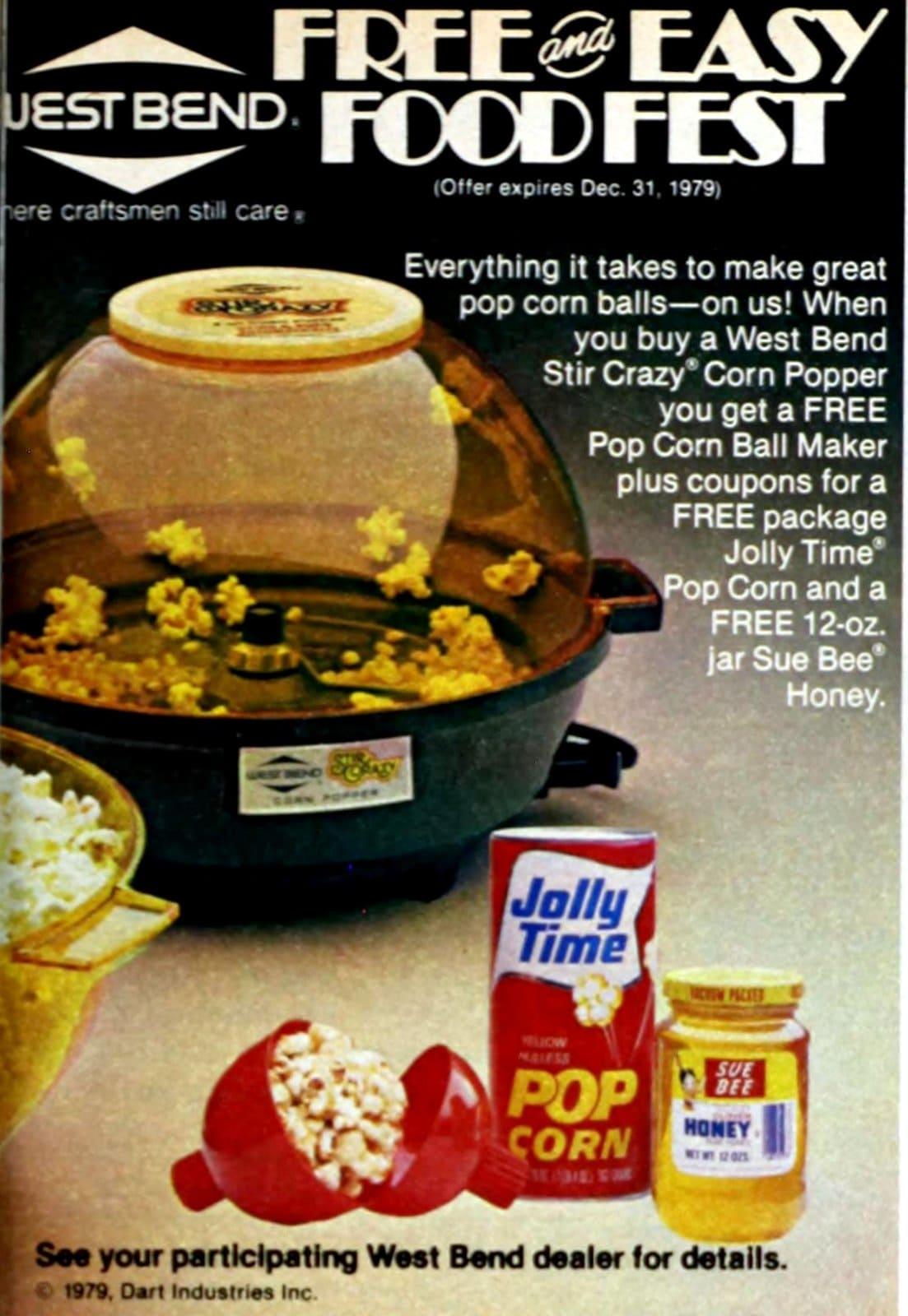 West Bend -- Stir Crazy Corn Popper (1979)