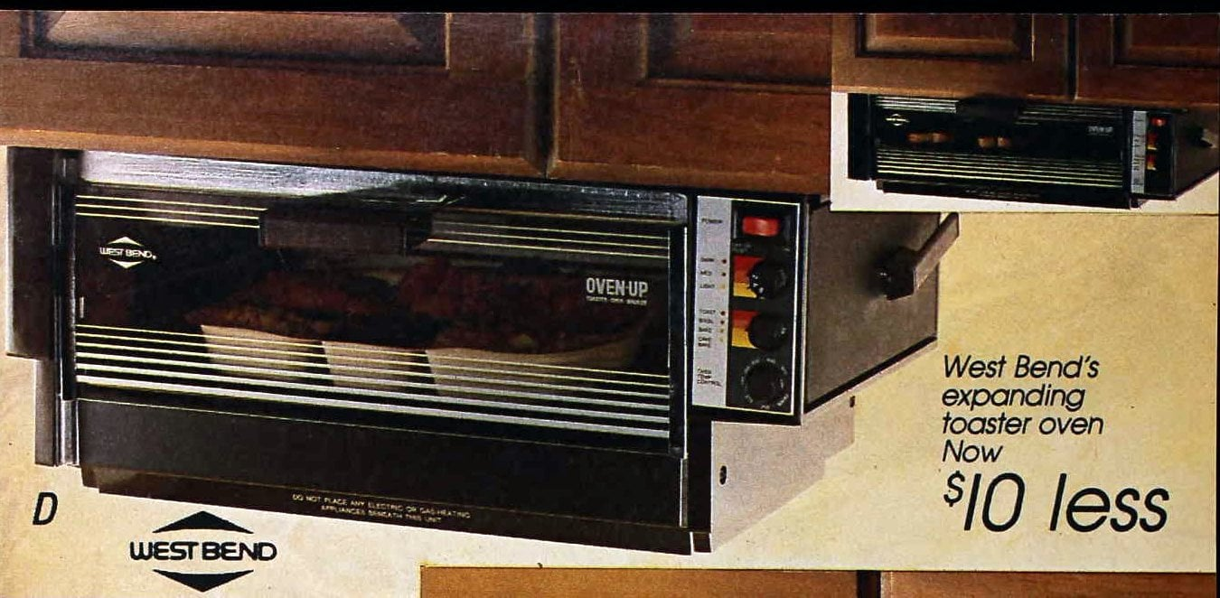 West Bend's expanding toaster oven (1988)