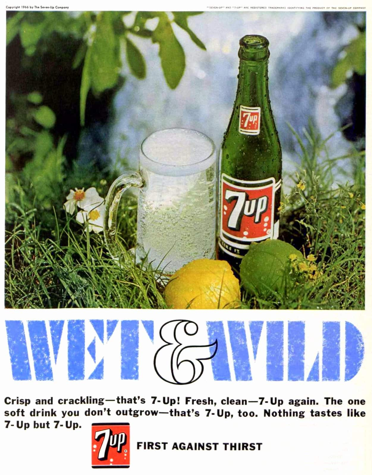 Wet and wild 7-Up (1966)
