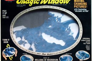 Whams Magic Window vintage toy c1973