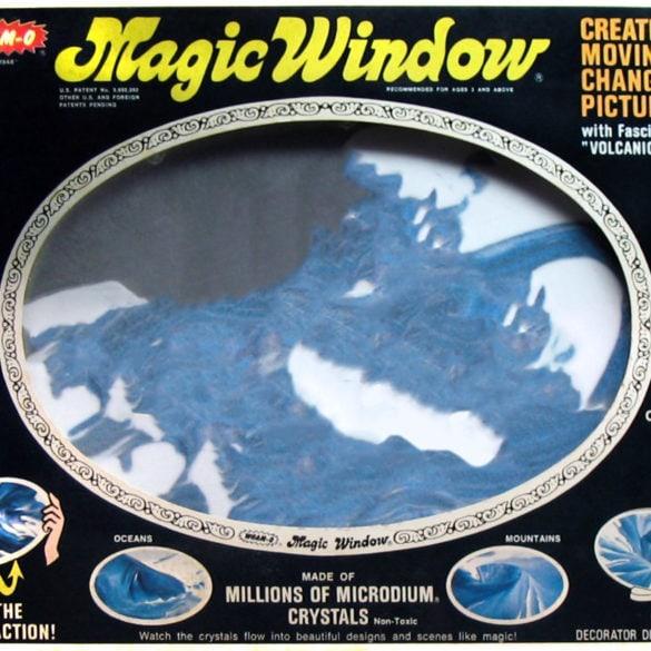 Whams Magic Window vintage toy c1973