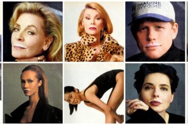 What a surprise! Celebrities with milk mustaches (1990s)